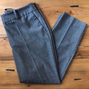 Ann Taylor Factory Dark Gray Straight Dress Pants
